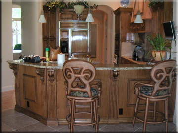 All Images (c) 2009 Jurewicz Custom Cabinetry LLC